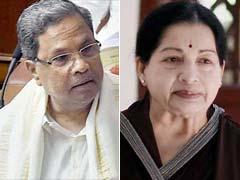Amid Tensions Of Cauvery Water Dispute, Siddaramaiah Writes To Jayalalithaa