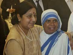 Sister Mary Sally Meets Sushma Swaraj In Vatican