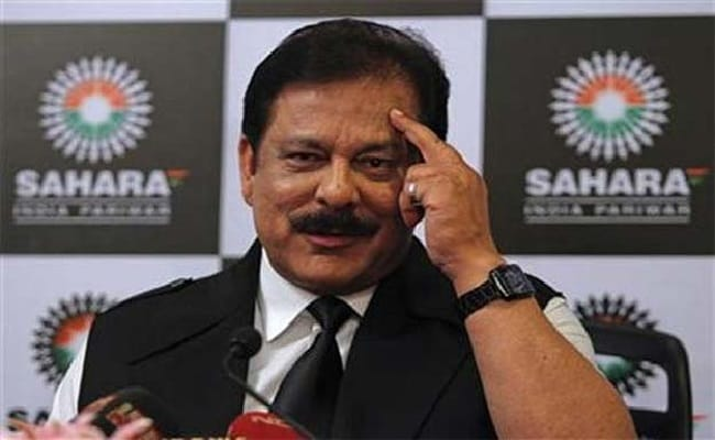 Sahara chief Subrata Roy is currently out on parole.