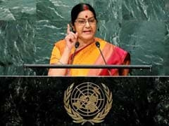 'Abandon This Dream': Sushma Swaraj Warns Pak About Kashmir At UN
