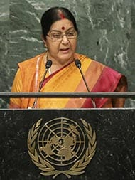 Sushma Swaraj Effectively Pinned Pak Down As Jihad Central - By Ashok Malik