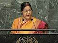 'Abandon This Dream': Sushma Swaraj Warns Pak About Kashmir At UN
