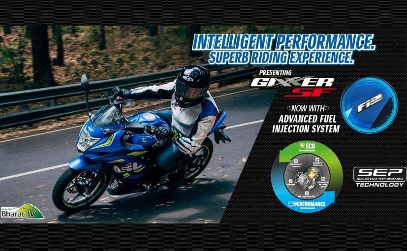 suzuki gixxer sf fuel injection features