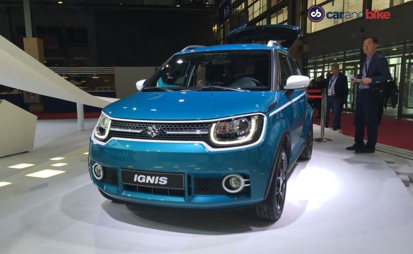 Image result for Paris Motor Show 2016: Suzuki Ignis Makes Its European Debut