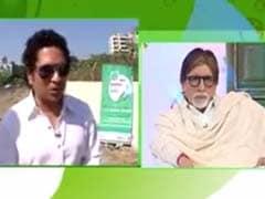 Amitabh Bachchan, Sachintendulkar Feature In New Swachh Bharat Videos