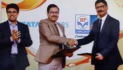 Tata Motors And HPCL Launch New HP Tata Motors Genuine Oil Range