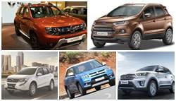 Top 5 SUVs in India