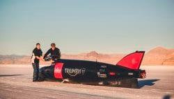 Triumph Temporarily Postpones Land Speed Record Attempt