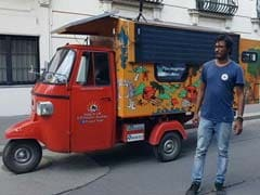 Indian-Origin Engineer's Solar 'Tuk-Tuk' Turns Heads At UK Exhibition