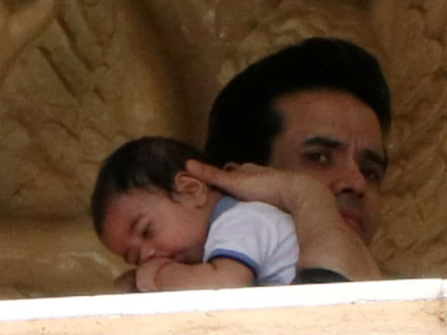 Laksshya is a Gift From Ganesh, Says Tusshar Kapoor About Son