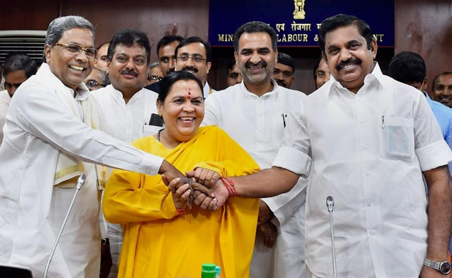 Unable To Forge Cauvery Truce, Uma Bharti Offers A Hunger Strike Instead