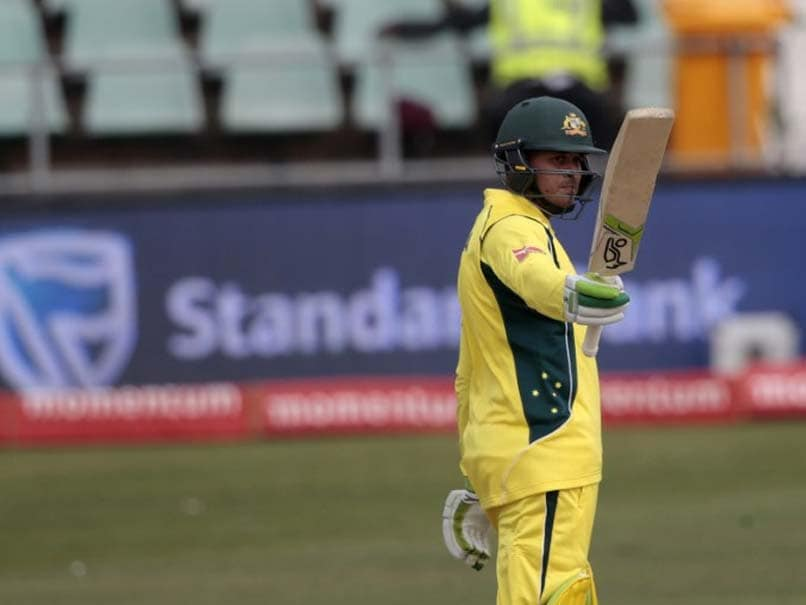 Usman Khawaja Shines As Australia Thrash Ireland By Nine Wickets