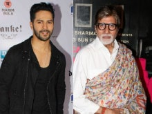 Varun Dhawan is Not Amitabh Bachchan's Co-Star. Not Yet