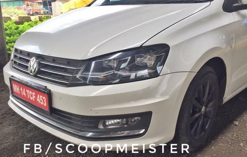 VW Vento Facelift Front