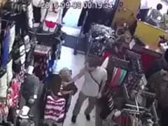 Caught On Camera: 94-Year-Old Woman's Pension Money Pulled Out Of Her Blouse