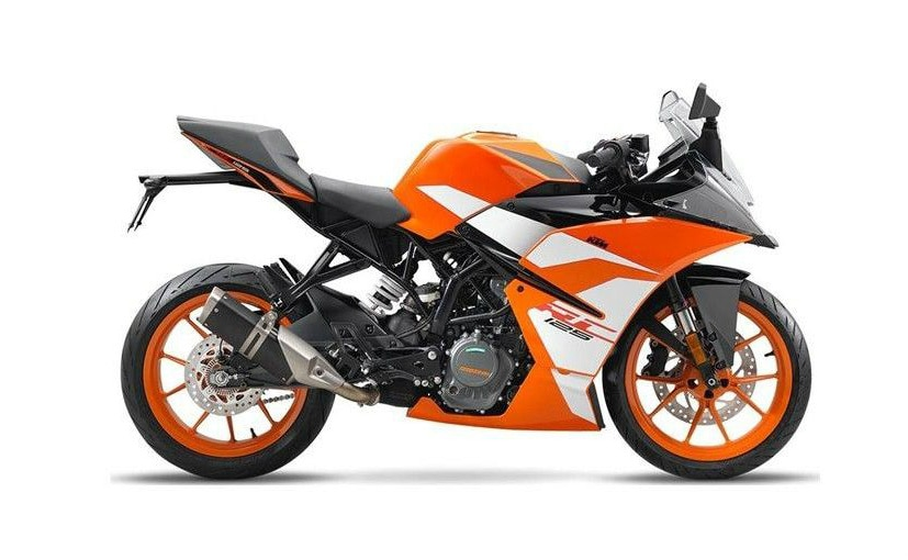 ktm rc 390 rc 200 and rc 125 get new livery for 2017 model year ndtv carandbike. Black Bedroom Furniture Sets. Home Design Ideas