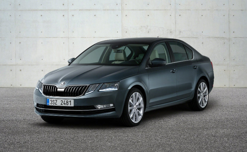 2017 Skoda Octavia Spotted Testing In India Sans Camouflage