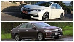 Honda Accord Hybrid vs Toyota Camry Hybrid: Specifications and Features Comparison