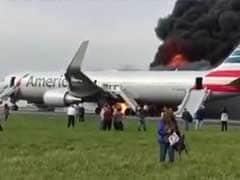 Plane Fire Sparks Frantic Evacuation On Chicago Runway, 20 Injured