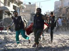 Aleppo Air Strike Kills 14 Members Of One Family: Rescue Workers
