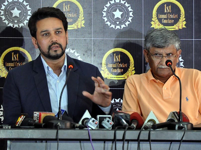 It's Upto BCCI Members to Accept or Reject Lodha Recommendations: Thakur