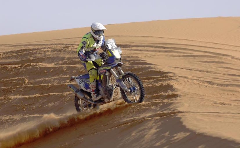aravind kp 2016 morocco rally day 4