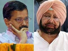 Amarinder Singh Dares Arvind Kejriwal On Twitter. Challenge Not Accepted