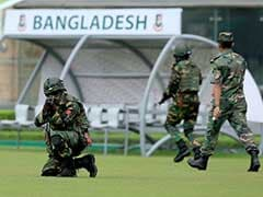 Bangladesh Army Commandos Hold War Game Ahead of England ODIs