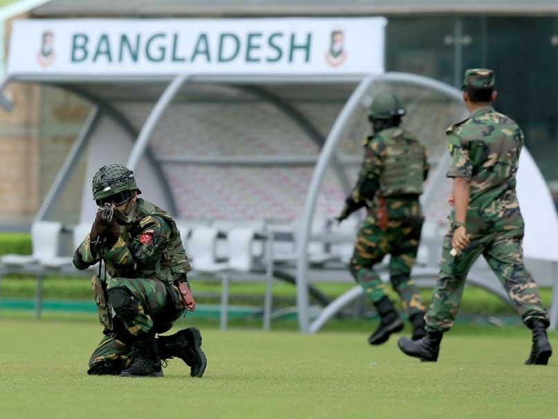 Bangladesh Army Commandos Hold War Game Ahead of England