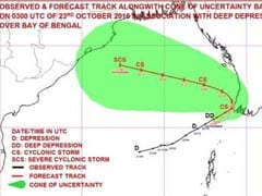 Deep Depression In Bay Of Bengal Intensifies Into Cyclone