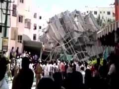 Five-Storey Building Collapses In Delhi's Jahangirpuri