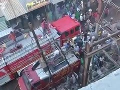 Massive Fire In Bhopal Plastics Factory