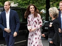 Britain's Young Royals Mark World Mental Health Day At London Eye