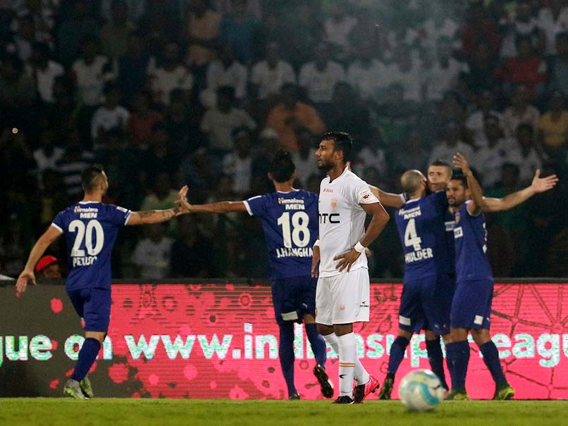 Indian Super League: Chennaiyin FC Break NorthEast United FC Jinx