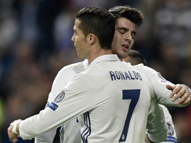 Alvaro Morata Winner Sends Real Madrid on Top In La Liga, Atletico Beaten