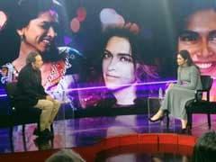 Watch: Deepika Padukone Speaks To Prannoy Roy