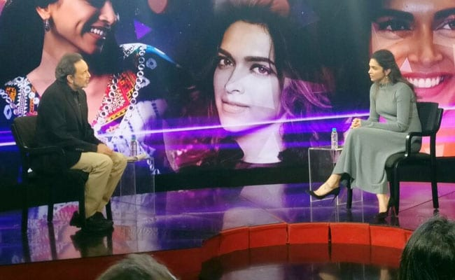 Watch: Deepika Padukone Speaks To Prannoy Roy