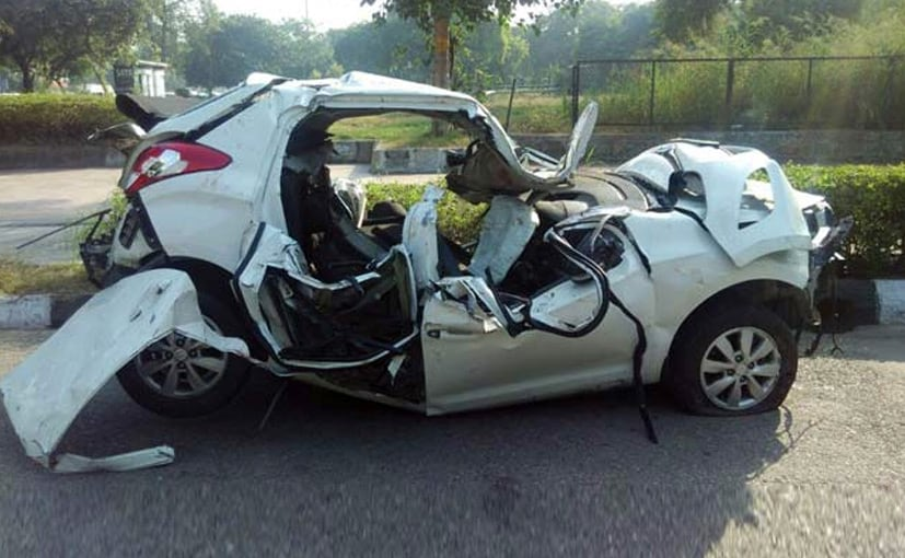 Yet Another Car Crash Leaves Crumpled Heap And Two Dead