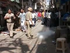 Explosion In Delhi's Chandni Chowk Area, 1 Reported Dead