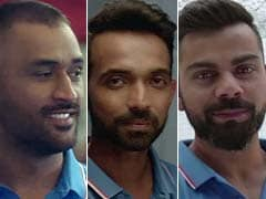 Dhoni, Kohli, Rahane Wear Their Mothers' Names On Jerseys. Here's Why