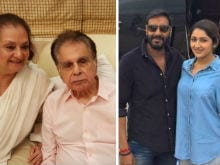Dilip Kumar Excited For Grandniece Sayyeshaa's Debut In <i>Shivaay</i>