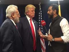 'Great Respect For Hindus.' Correction, 'India': Donald Trump To NDTV