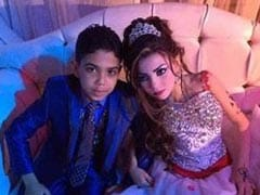 Pictures Of Two Egyptian Children Engaged To Be Married Trigger Outrage