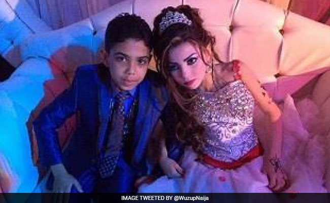 Pictures Of 2 Children Engaged To Be Married Trigger Outrage