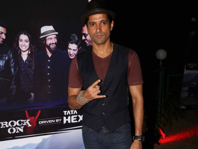 Farhan Akhtar Rock On 2