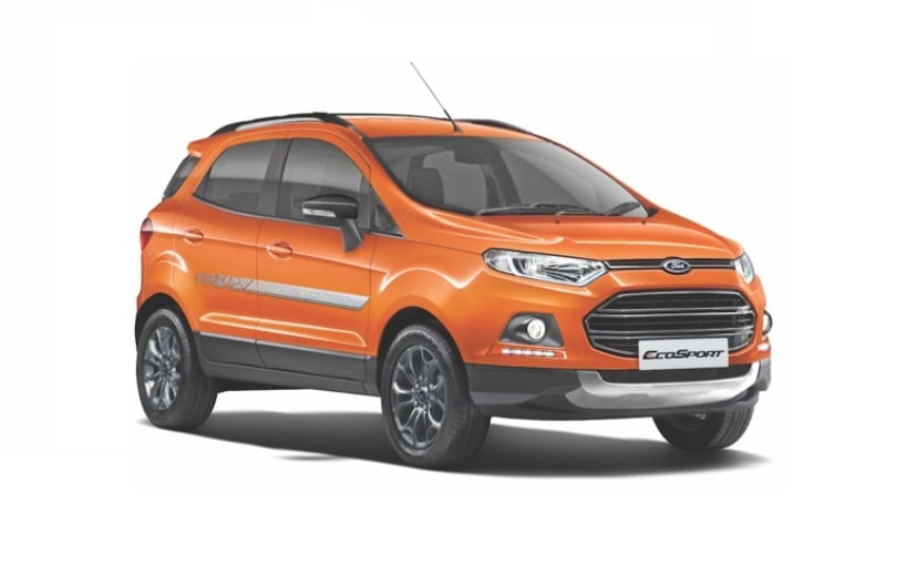 ford ecosport signature edition launched price starts at rs lakh ndtv carandbike. Black Bedroom Furniture Sets. Home Design Ideas