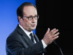 Outgoing French President Hollande Says 'Ultimate Duty' Is To Prevent Le Pen Victory