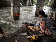 Over 90,000 People Flee As Typhoon Haima Slams Northern Philippines
