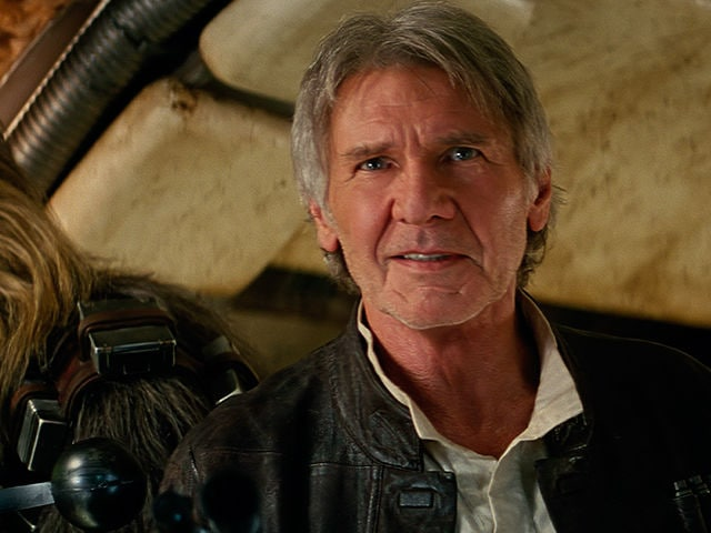 Harrison Ford as Han S...