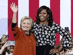 Superstar Ally Michelle Obama Hits Trail With Hillary Clinton